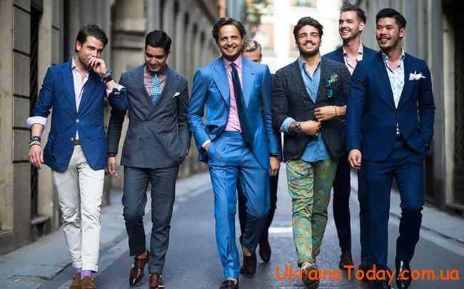 оптимальні кольори чоловічого вбрання