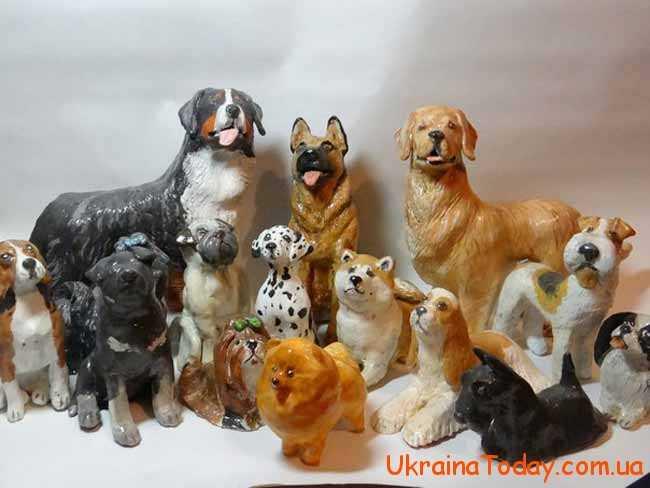 статуетки собачок