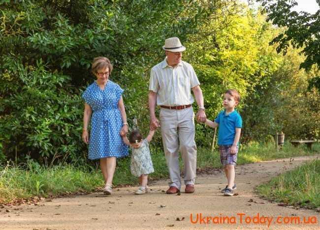 прогулянка з онуками