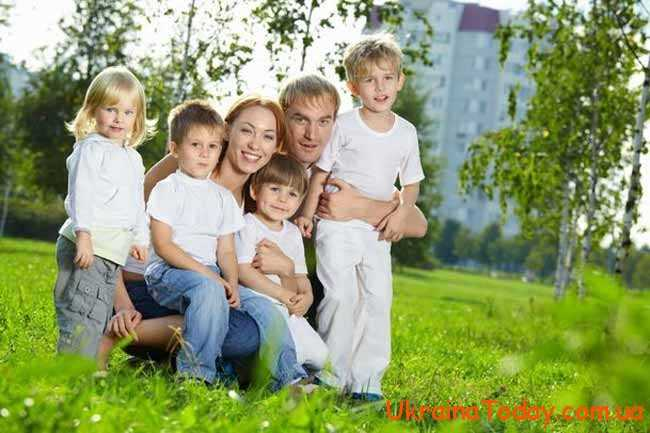 Для сімей, в яких виховується більше однієї дитини