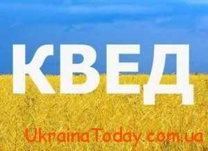 КВЕД 2018 в Україні с расшифровкой