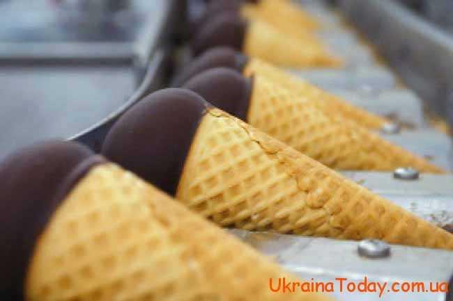 виробництво морозива