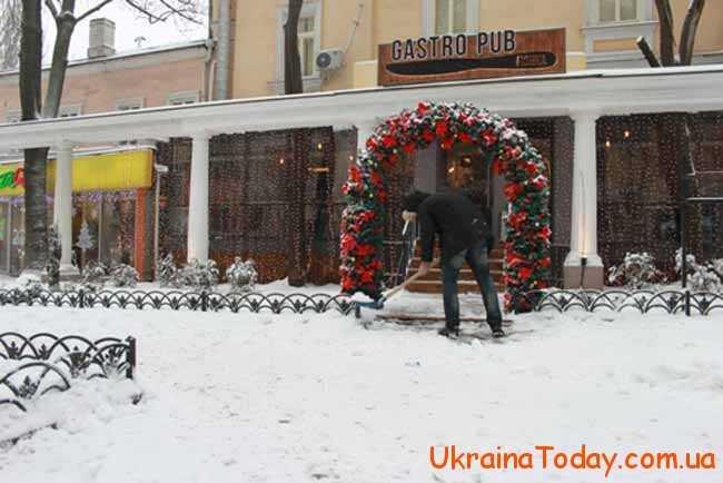 Погода на грудень 2018 року в Одесі