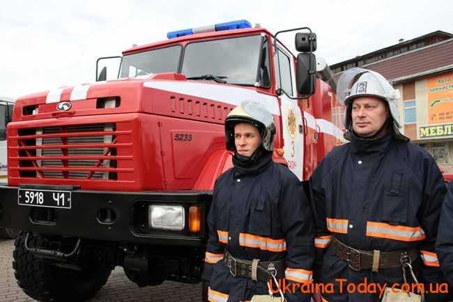 професійні пожежники
