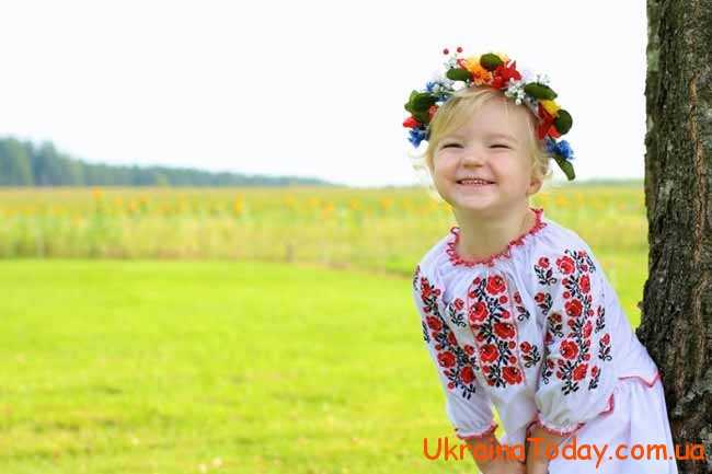 маленька українка
