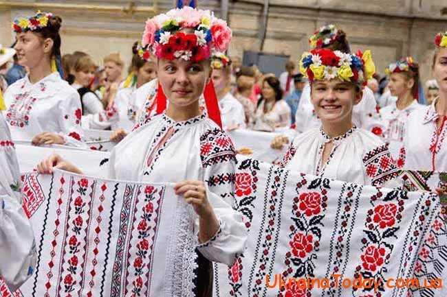 Якого числа день вишиванки в Україні в 2018 році. Дата 0863ec2f7db73