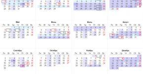 Церковний православний календар на 2019 рік