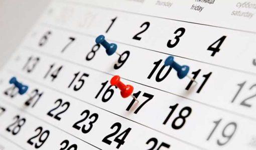 Польський церковний календар на 2019 рік