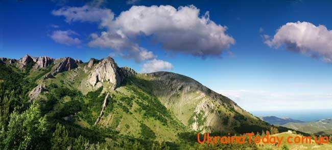 Карпатські та Кримські гори