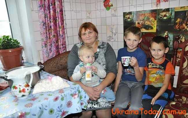 Соціальна допомога малозабезпеченим сім'ям в Україні
